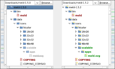Meld diff viewer ubuntu download